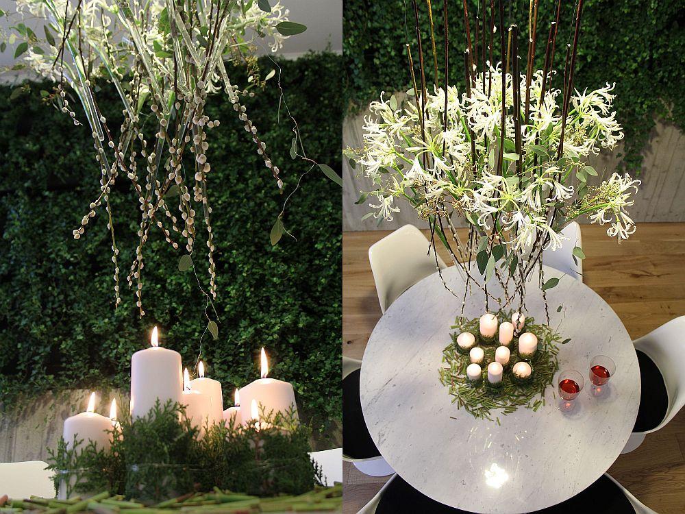 adelaparvu.com despre Nicu Bocancea designer florist castigator al concursului Flower Fusion aranjament masa de Craciun 2014 (7)