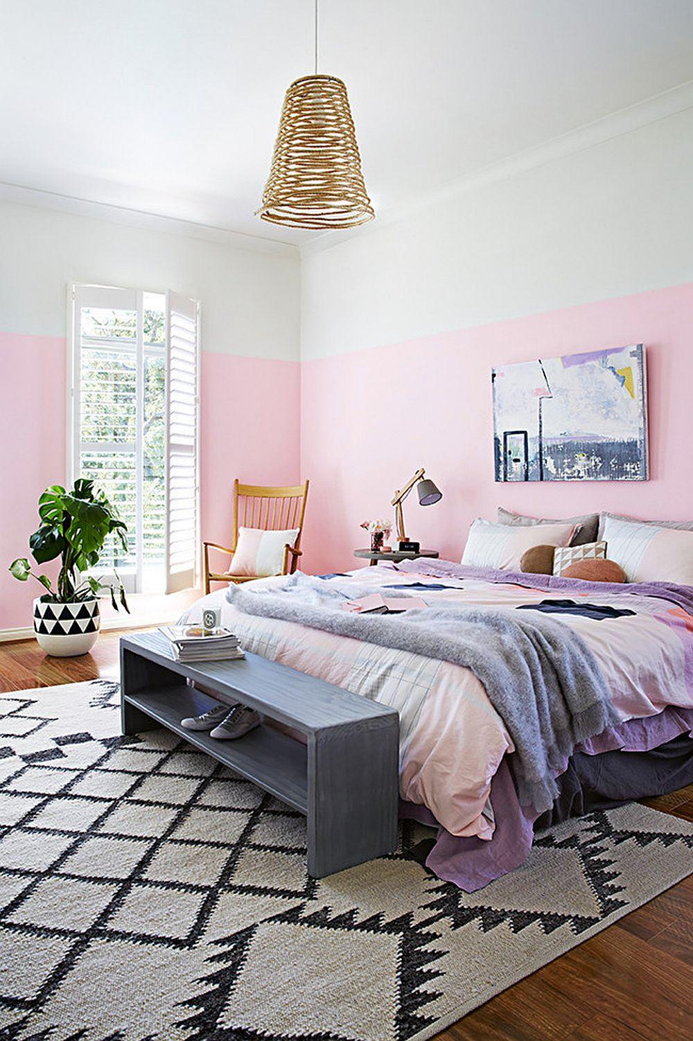 adelaparvu.com despre acelasi dormitor 2 variante de decorare, stilist Julia Green, Foto Armelle Habib  (2)