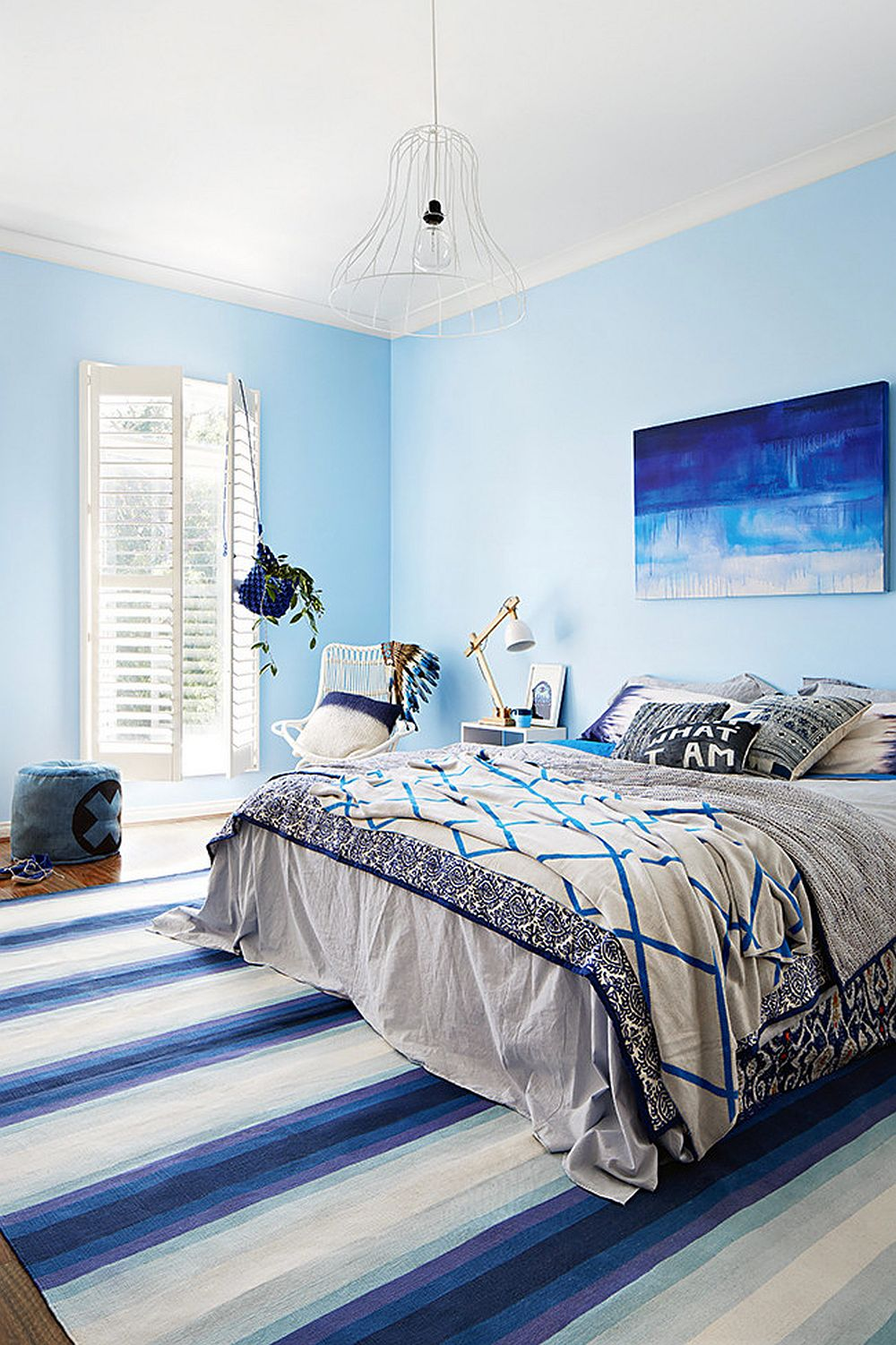 adelaparvu.com despre acelasi dormitor 2 variante de decorare, stilist Julia Green, Foto Armelle Habib  (6)