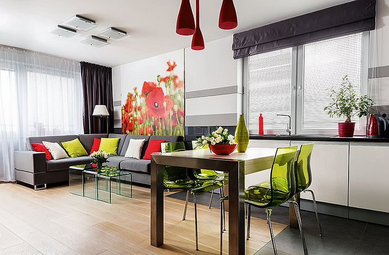 adelaparvu.com despre apartament de 2 camere transformat in unul cu 3 camere, design interior Mikolajska Studio (1)