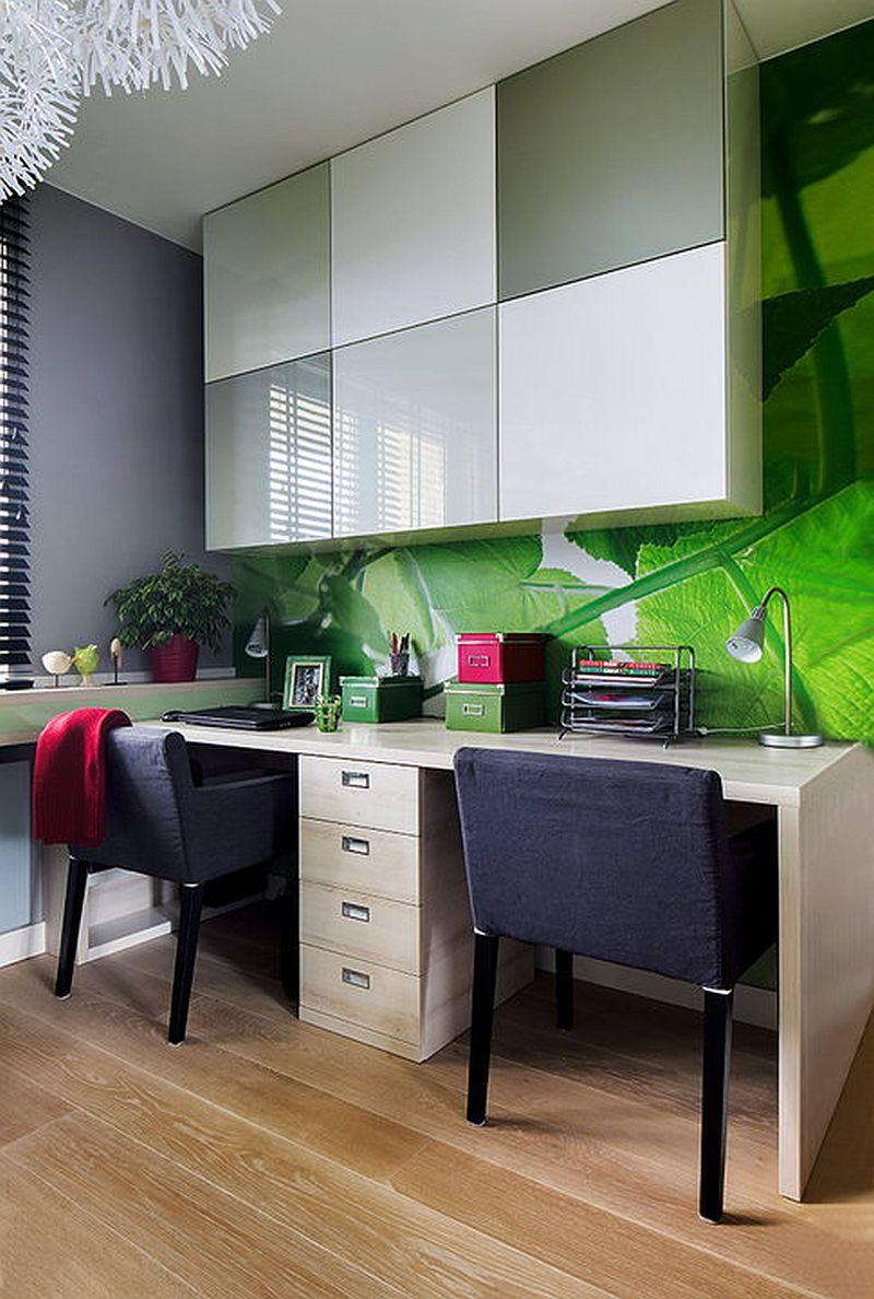 adelaparvu.com despre apartament de 2 camere transformat in unul cu 3 camere, design interior Mikolajska Studio (10)