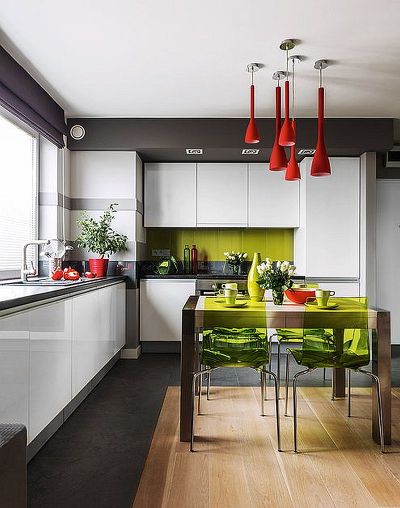 adelaparvu.com despre apartament de 2 camere transformat in unul cu 3 camere, design interior Mikolajska Studio (11)