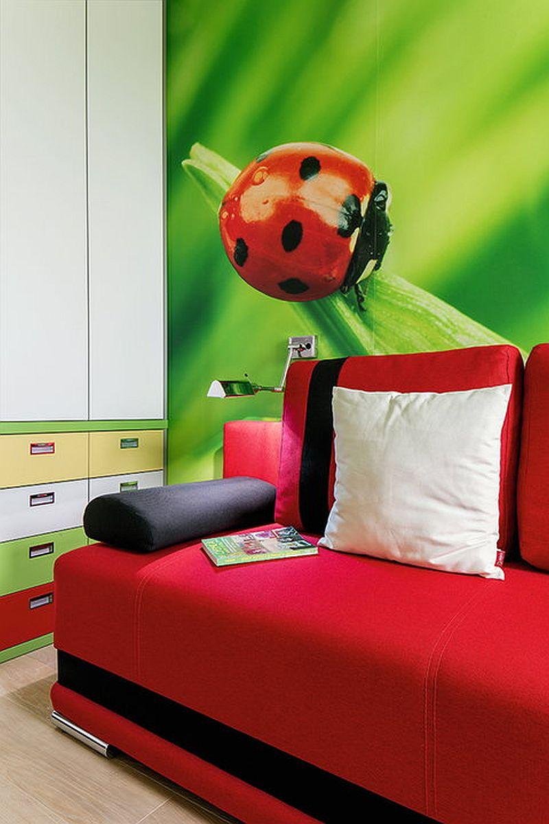 adelaparvu.com despre apartament de 2 camere transformat in unul cu 3 camere, design interior Mikolajska Studio (12)