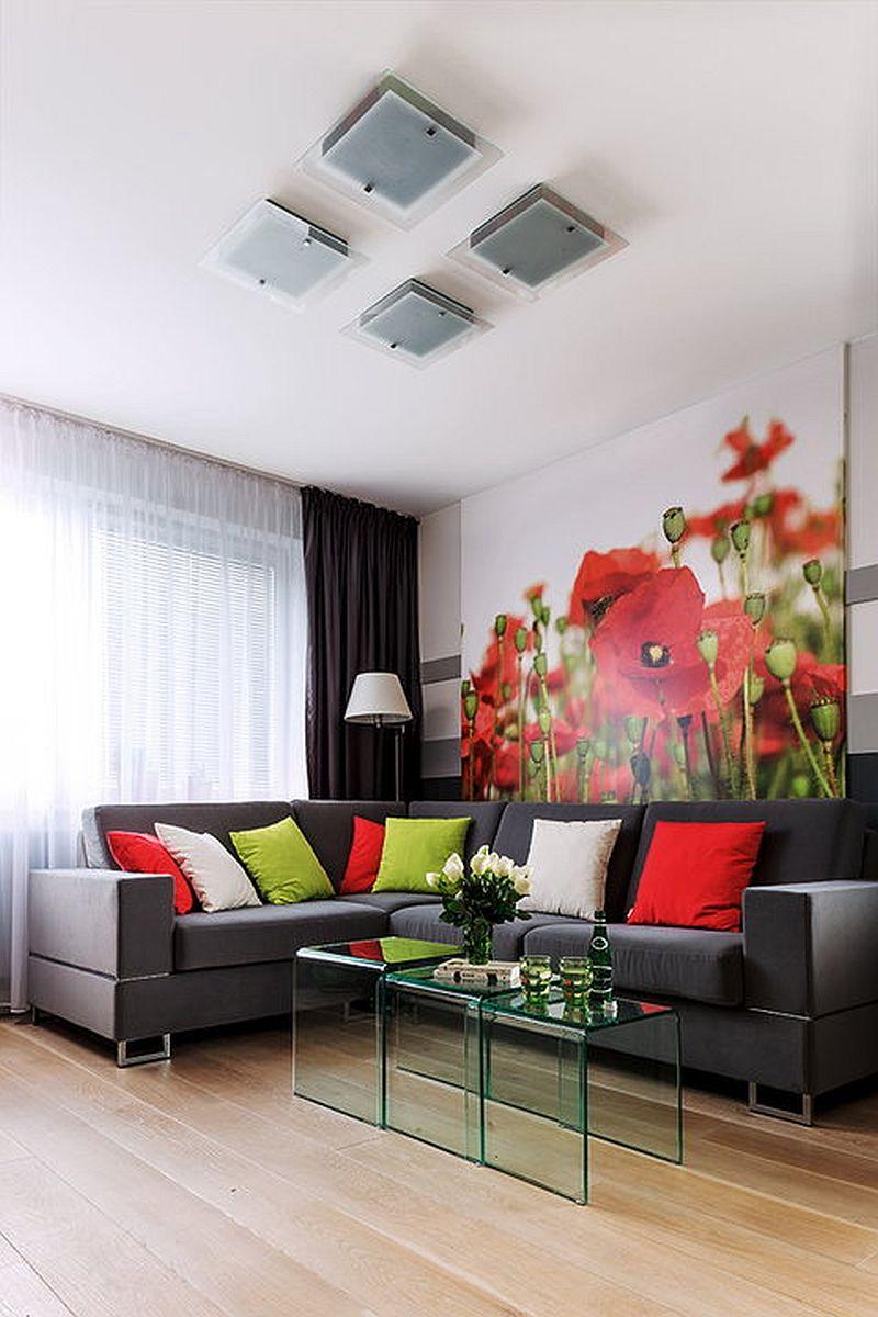 adelaparvu.com despre apartament de 2 camere transformat in unul cu 3 camere, design interior Mikolajska Studio (14)