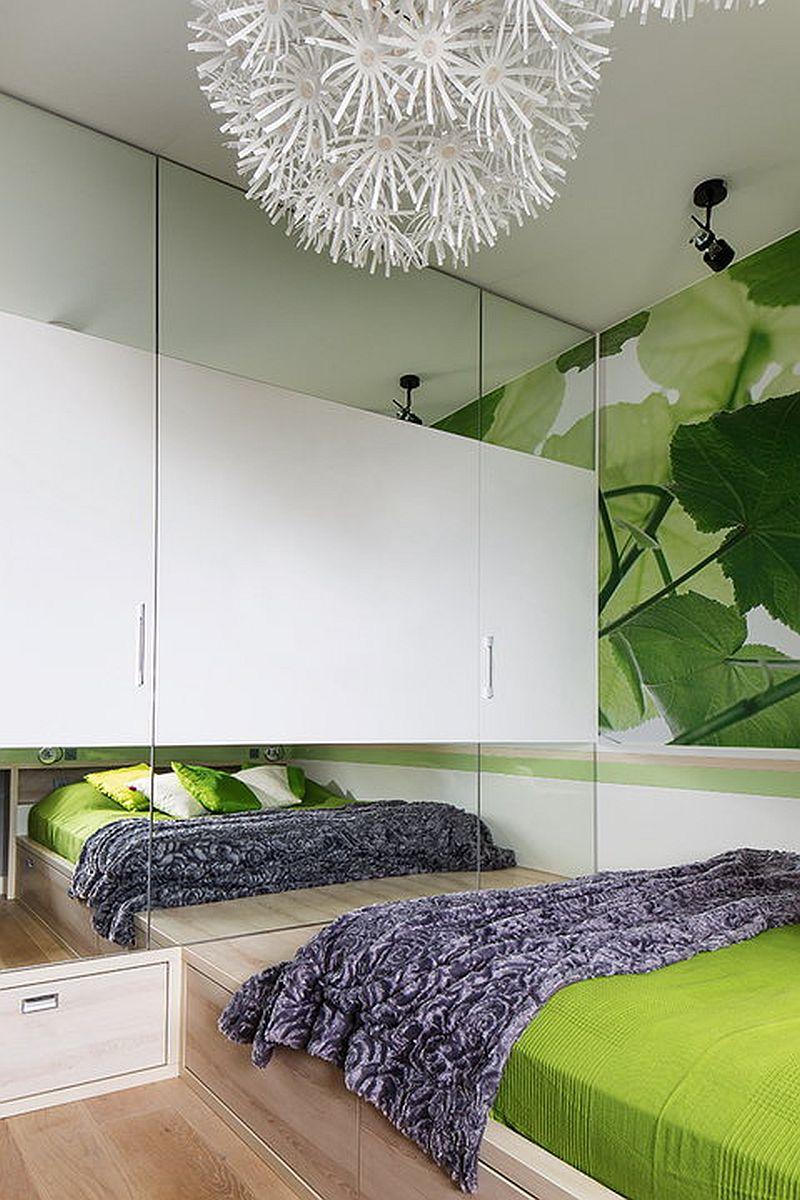 adelaparvu.com despre apartament de 2 camere transformat in unul cu 3 camere, design interior Mikolajska Studio (2)