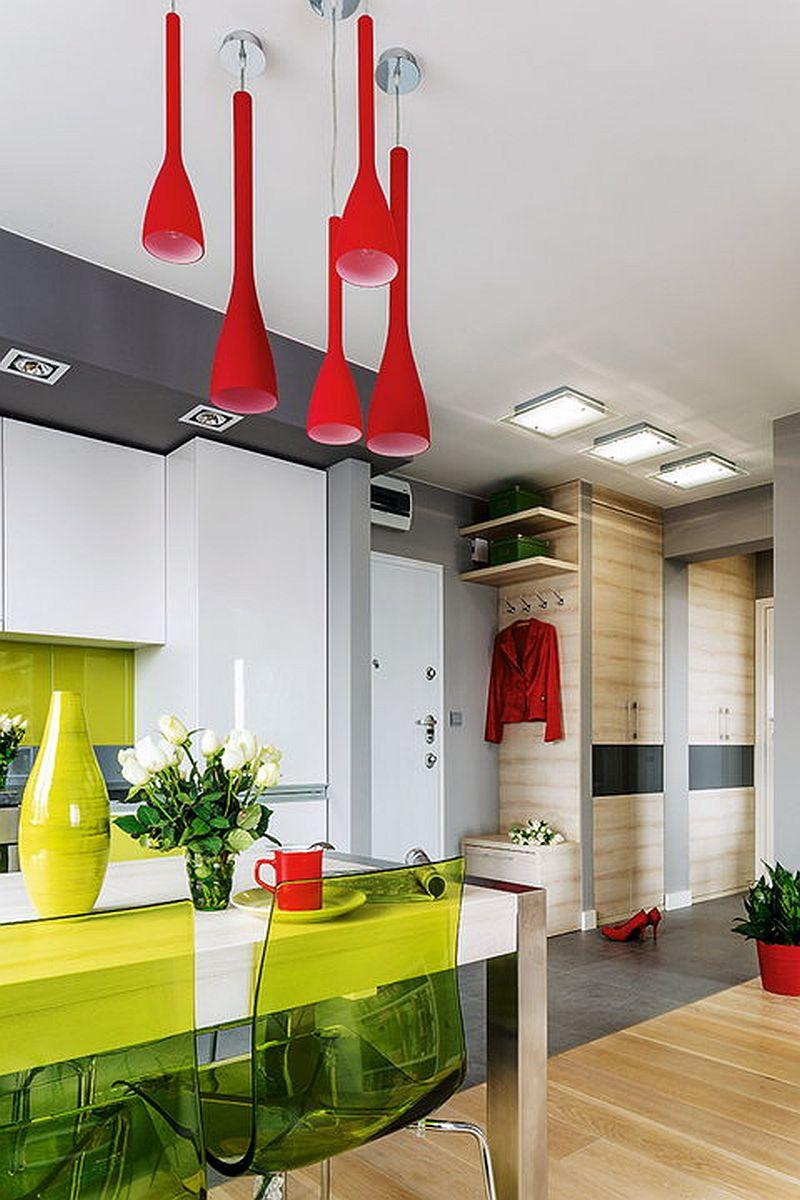 adelaparvu.com despre apartament de 2 camere transformat in unul cu 3 camere, design interior Mikolajska Studio (4)