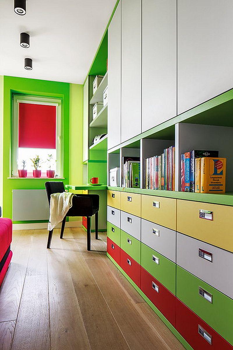 adelaparvu.com despre apartament de 2 camere transformat in unul cu 3 camere, design interior Mikolajska Studio (5)