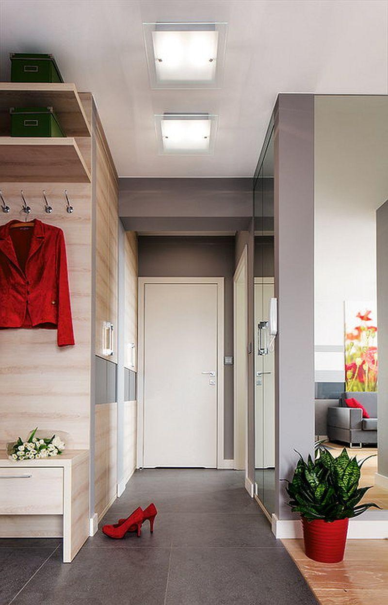 adelaparvu.com despre apartament de 2 camere transformat in unul cu 3 camere, design interior Mikolajska Studio (6)