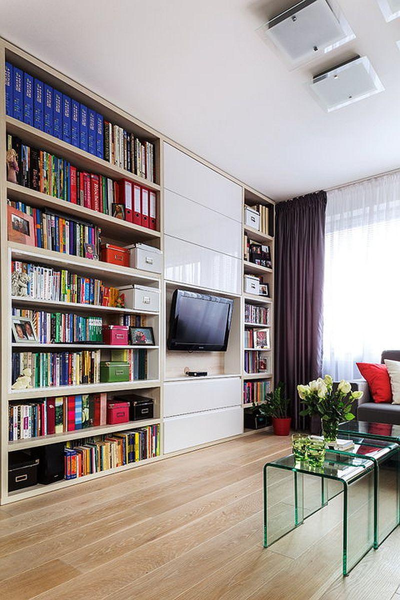 adelaparvu.com despre apartament de 2 camere transformat in unul cu 3 camere, design interior Mikolajska Studio (7)