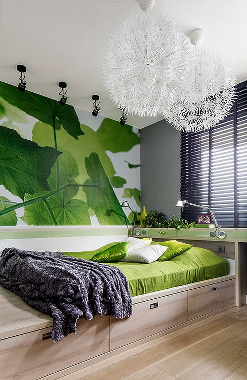 adelaparvu.com despre apartament de 2 camere transformat in unul cu 3 camere, design interior Mikolajska Studio (8)