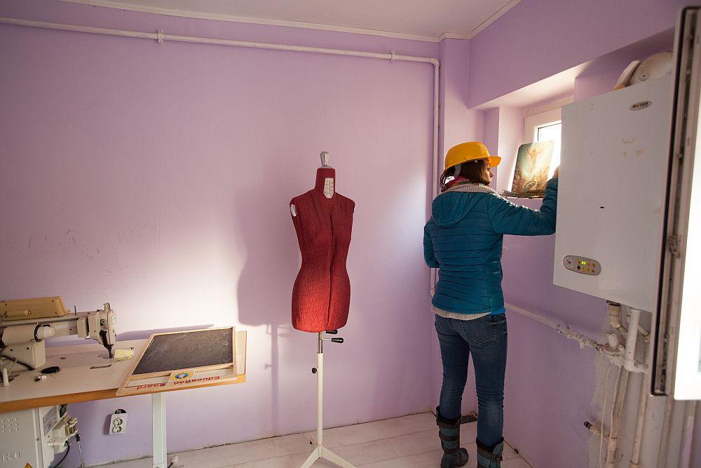adelaparvu.com despre apartmentul Liliana Ion din emisiunea Visuri la cheie, proTV, senzonul 1, 2014 (9)