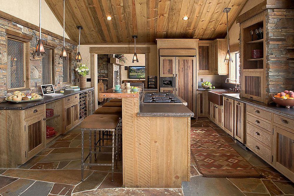 adelaparvu.com despre cabana de munte, cabana de schi SUA, design si arhitectura High Camp Home (7)