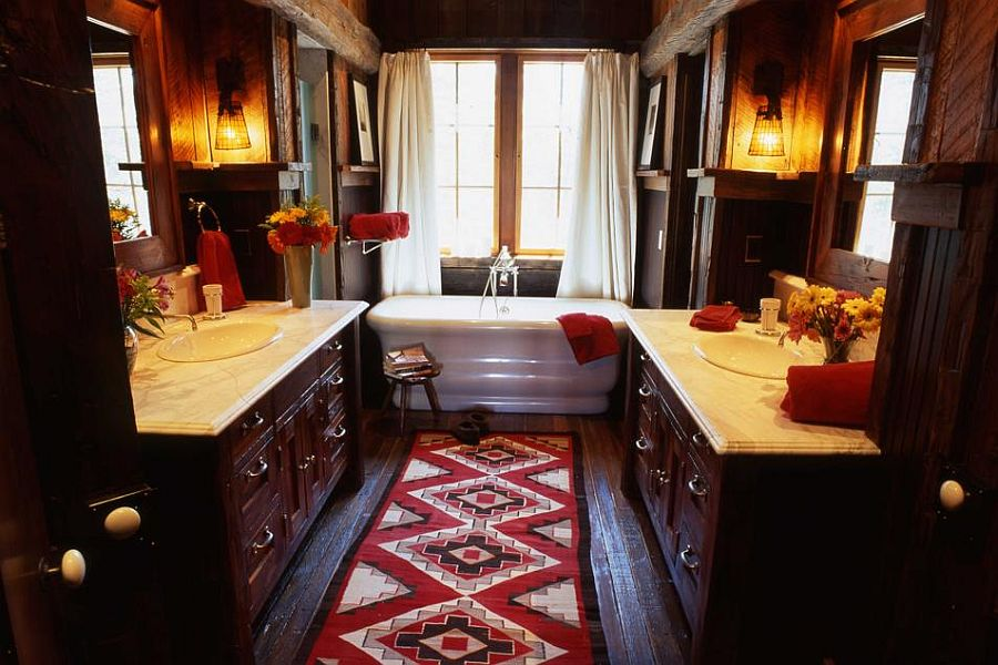 adelaparvu.com despre cabana de munte, casa lemn SUA, Lone Peak , arhitectuea Peace Design (20)