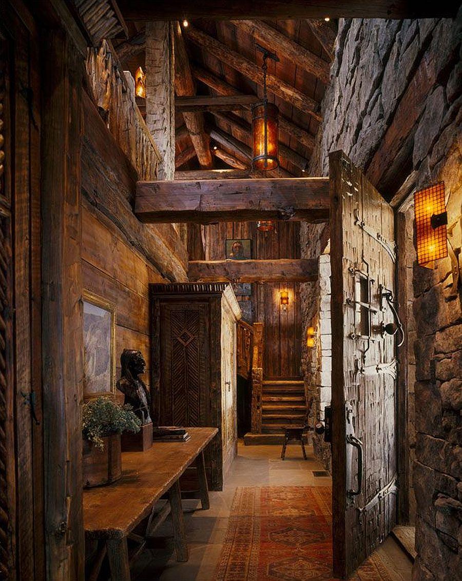 adelaparvu.com despre cabana de munte, casa lemn SUA, Lone Peak , arhitectuea Peace Design (21)
