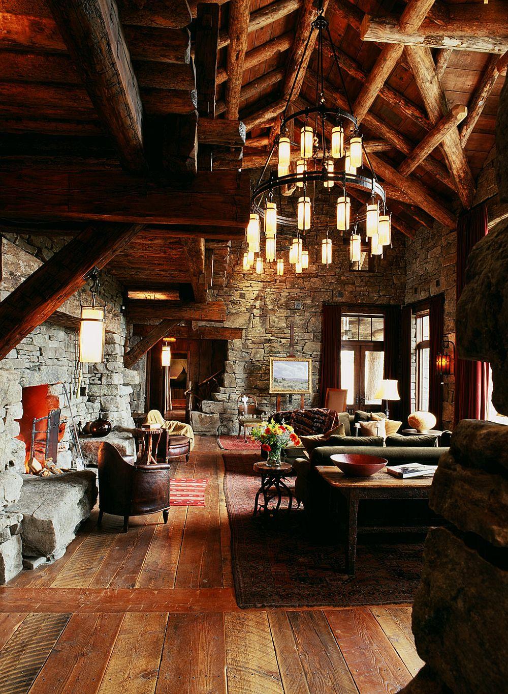 adelaparvu.com despre cabana de munte, casa lemn SUA, Lone Peak , arhitectuea Peace Design (24)