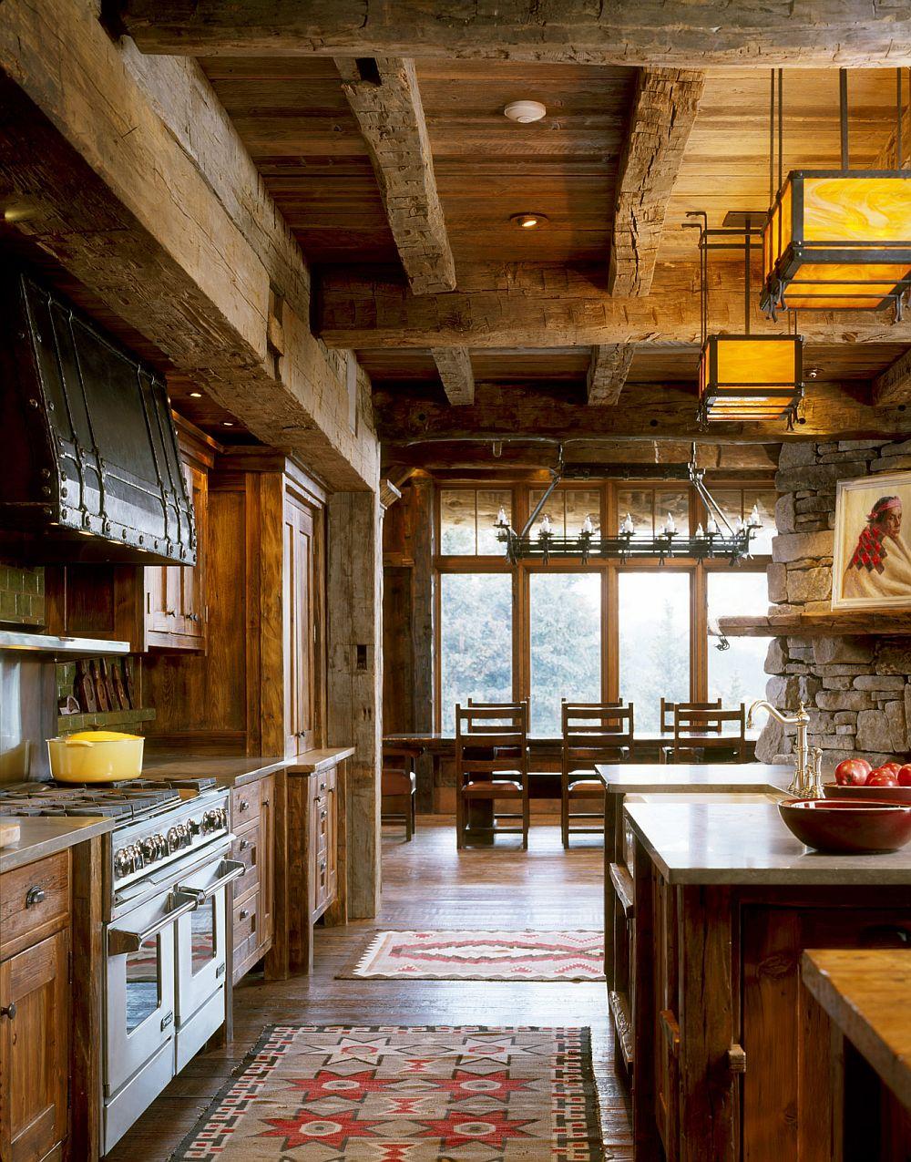 adelaparvu.com despre cabana de munte, casa lemn SUA, Lone Peak , arhitectuea Peace Design (28)