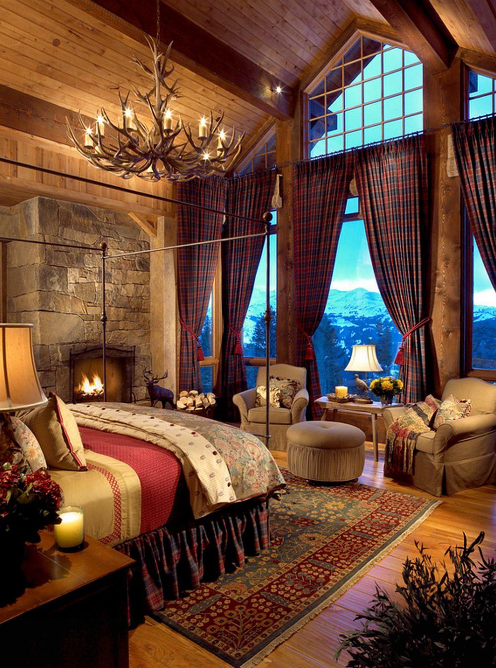 adelaparvu.com despre cabana de munte rustic eleganta, cabana schi Yellowstone Club, Big Sky, arhitectura Zabala Erickson, Foto  Kim Sargent (5)