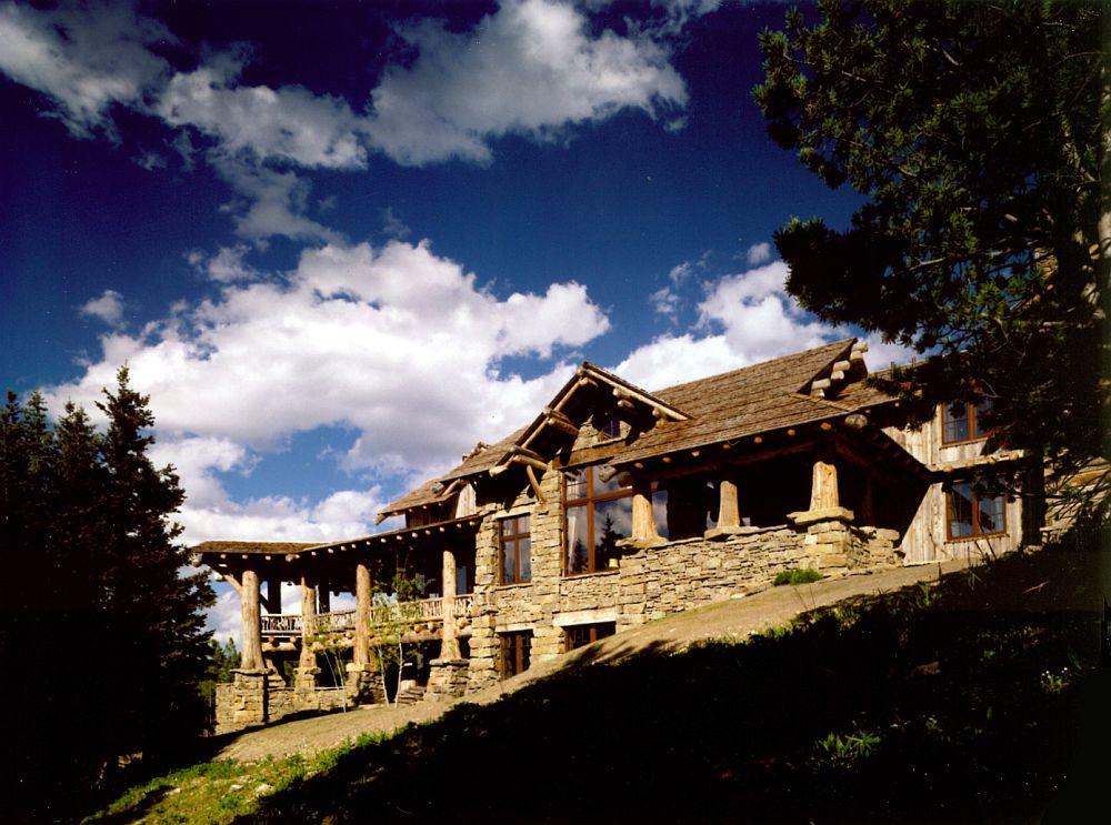 adelaparvu.com despre cabana schi munte, Peace Design