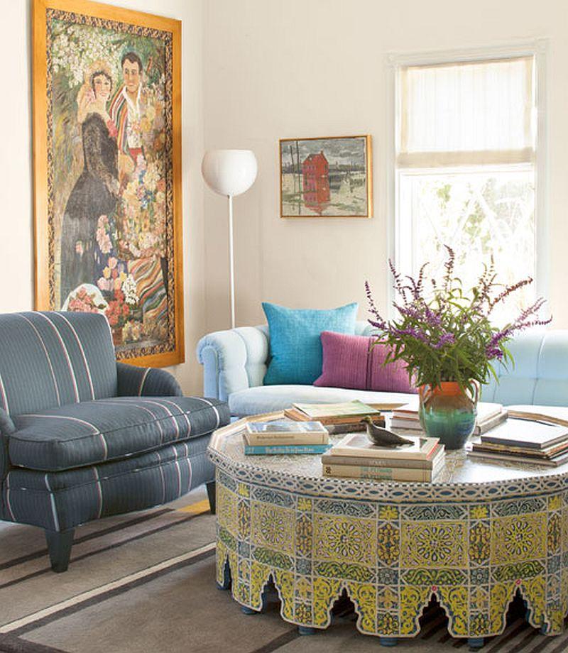 adelaparvu.com despre casa colorata, casa de designer, designer Sasha Emerson, Foto Lisa Romerein, Country Living(7)