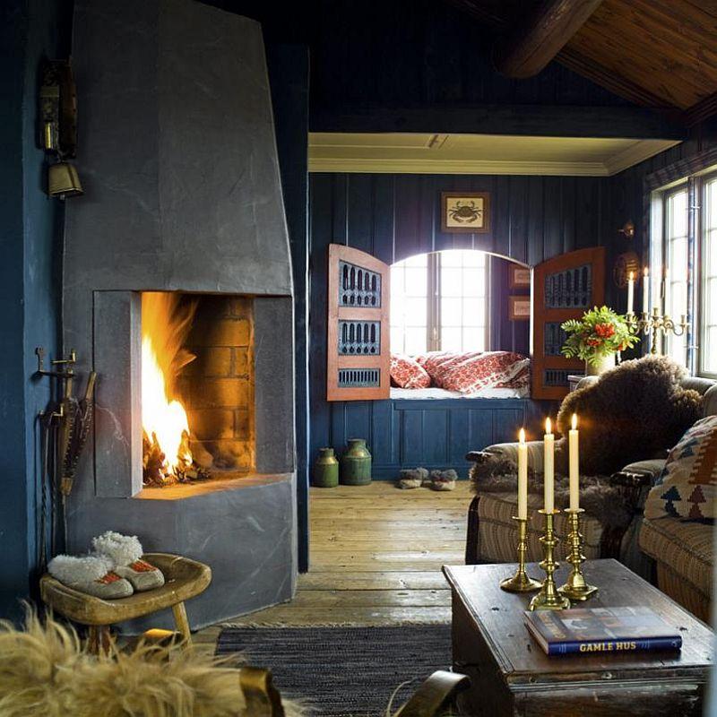 adelaparvu.com despre casa de munte norvegiana, design interior Else Rønnevig, Foto Espen Grønli (8)