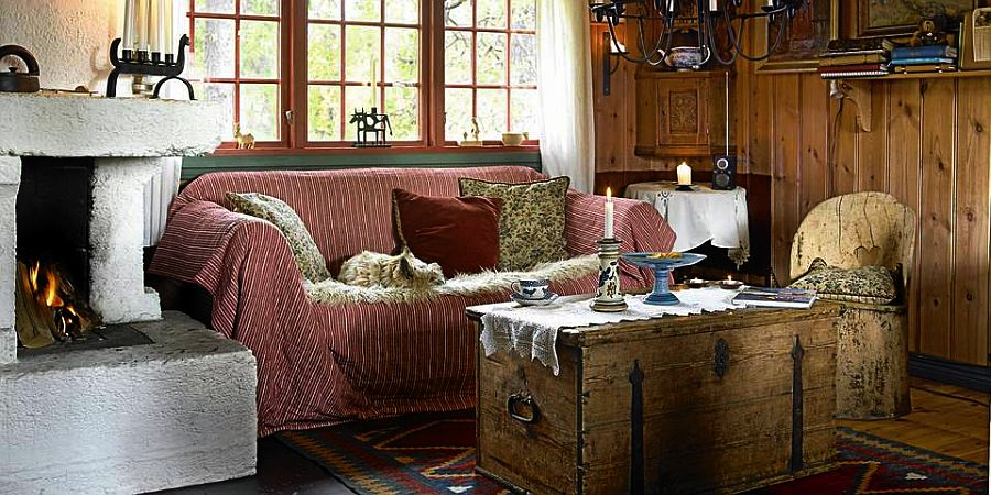 adelaparvu.com despre casa de vacanta din lemn, casa rustica Norvegia, Foto Frode Larsen (5)