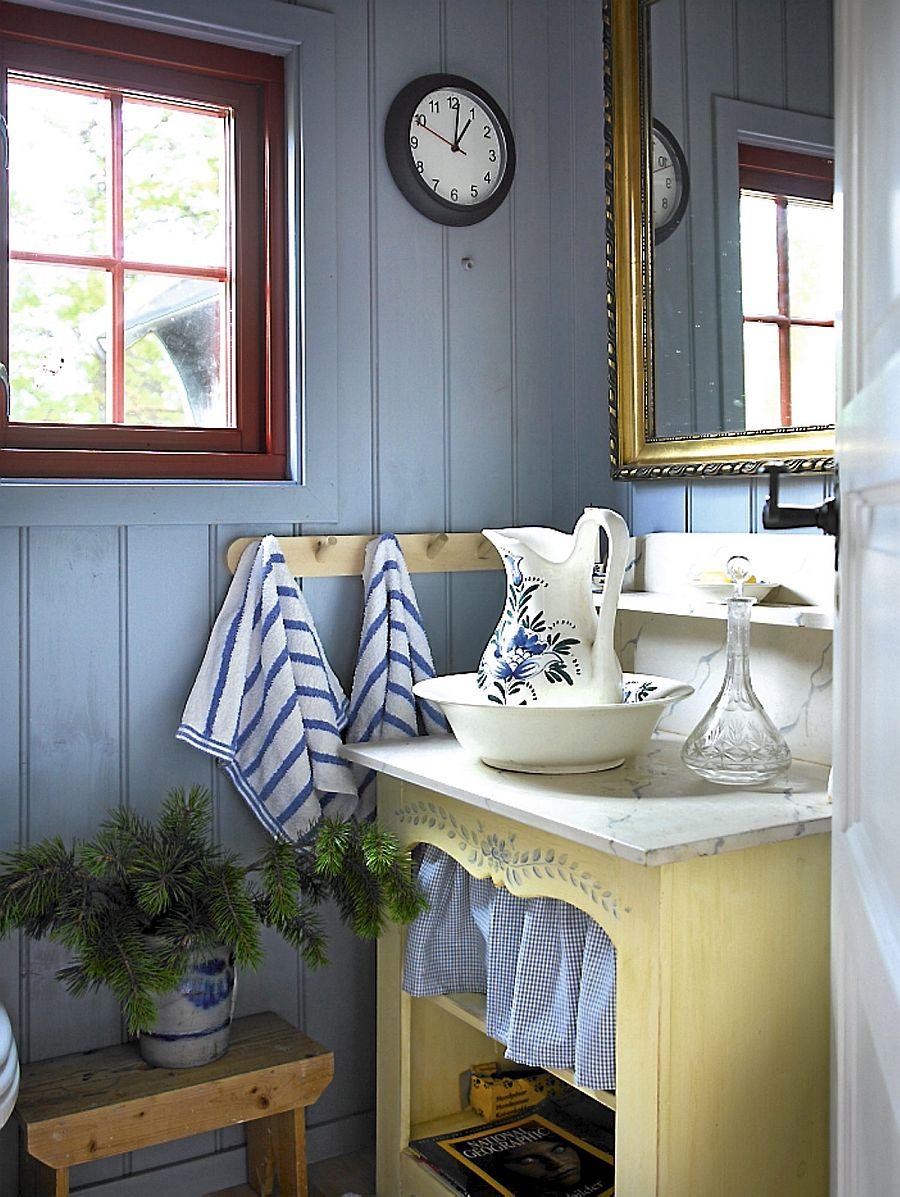 adelaparvu.com despre casa de vacanta din lemn, casa rustica Norvegia, Foto Frode Larsen