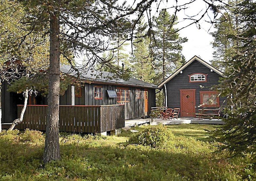 adelaparvu.com despre casa de vacanta din lemn, casa rustica Norvegia, Foto Frode Larsen (8)