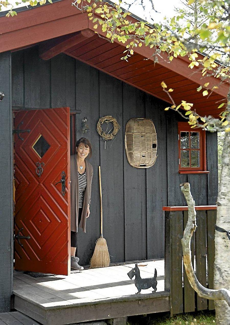 adelaparvu.com despre casa de vacanta din lemn, casa rustica Norvegia, Foto Frode Larsen (9)