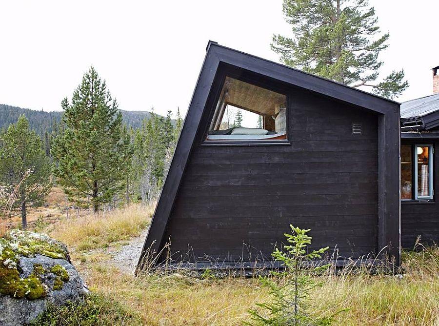 adelaparvu.com despre casa din lemn extinsa, arhitect Per Martin Landfald, Foto Sveinung Braathen (10)
