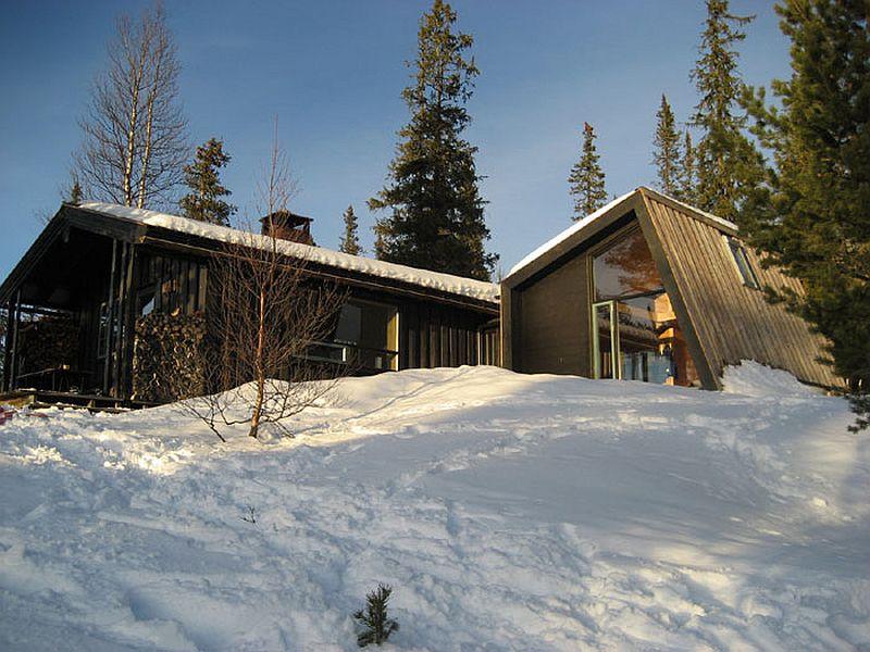 adelaparvu.com despre casa din lemn extinsa, arhitect Per Martin Landfald, Foto Sveinung Braathen (12)