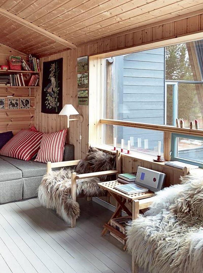 adelaparvu.com despre casa din lemn extinsa, arhitect Per Martin Landfald, Foto Sveinung Braathen (2)