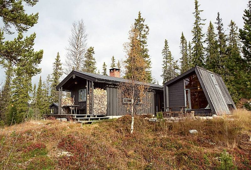 adelaparvu.com despre casa din lemn extinsa, arhitect Per Martin Landfald, Foto Sveinung Braathen (3)