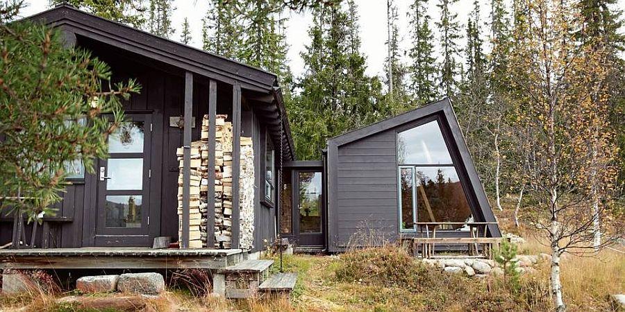 adelaparvu.com despre casa din lemn extinsa, arhitect Per Martin Landfald, Foto Sveinung Braathen (8)