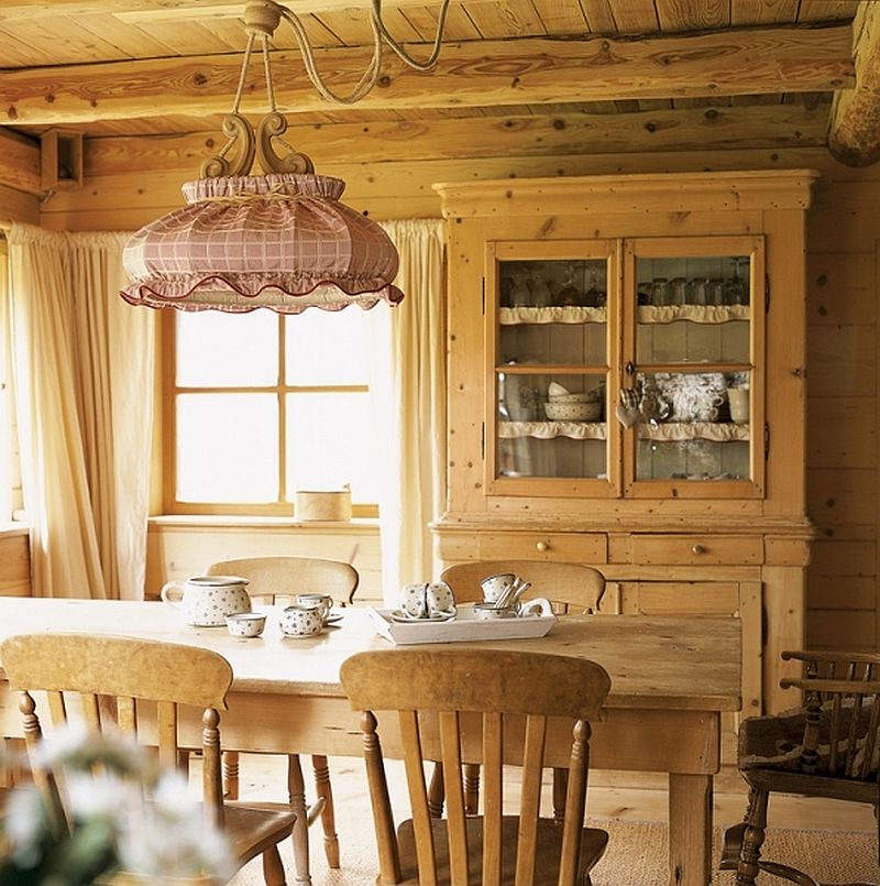 adelaparvu.com despre casa din lemn, interior rustic, casa Belgia (11)
