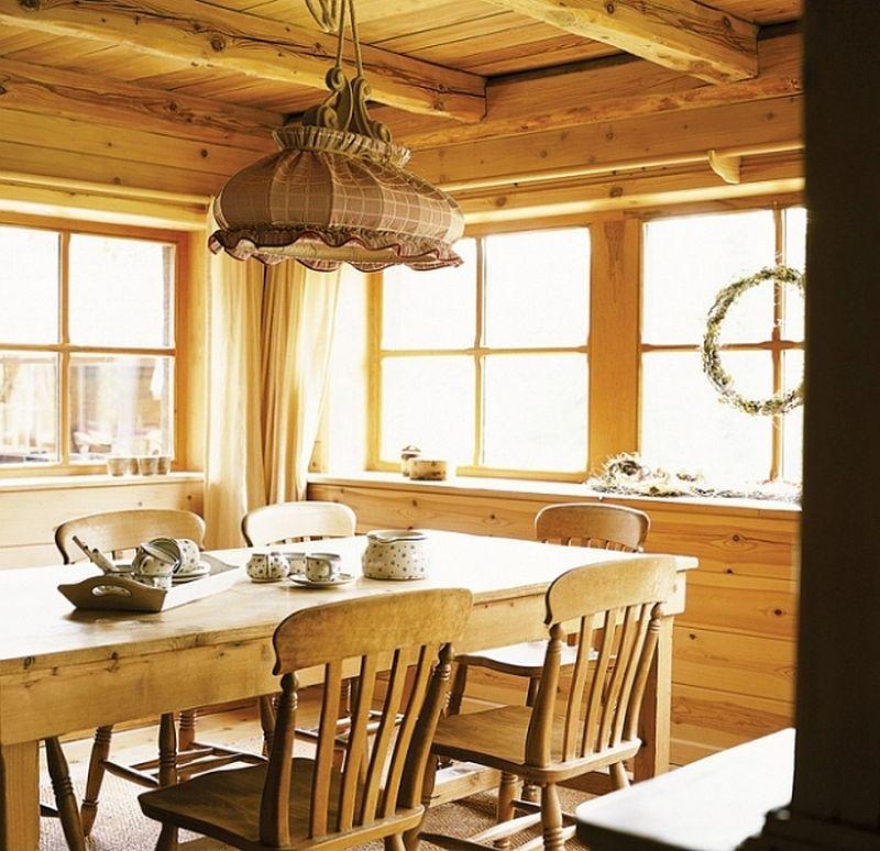 adelaparvu.com despre casa din lemn, interior rustic, casa Belgia (12)