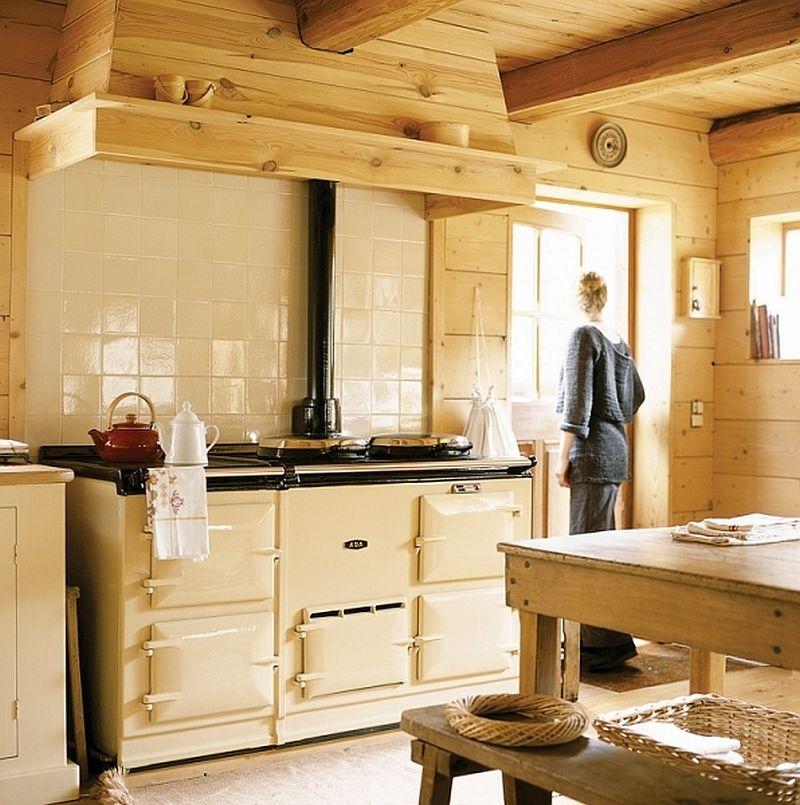 adelaparvu.com despre casa din lemn, interior rustic, casa Belgia (13)