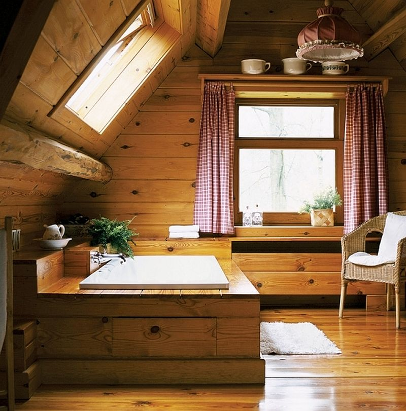 adelaparvu.com despre casa din lemn, interior rustic, casa Belgia (18)