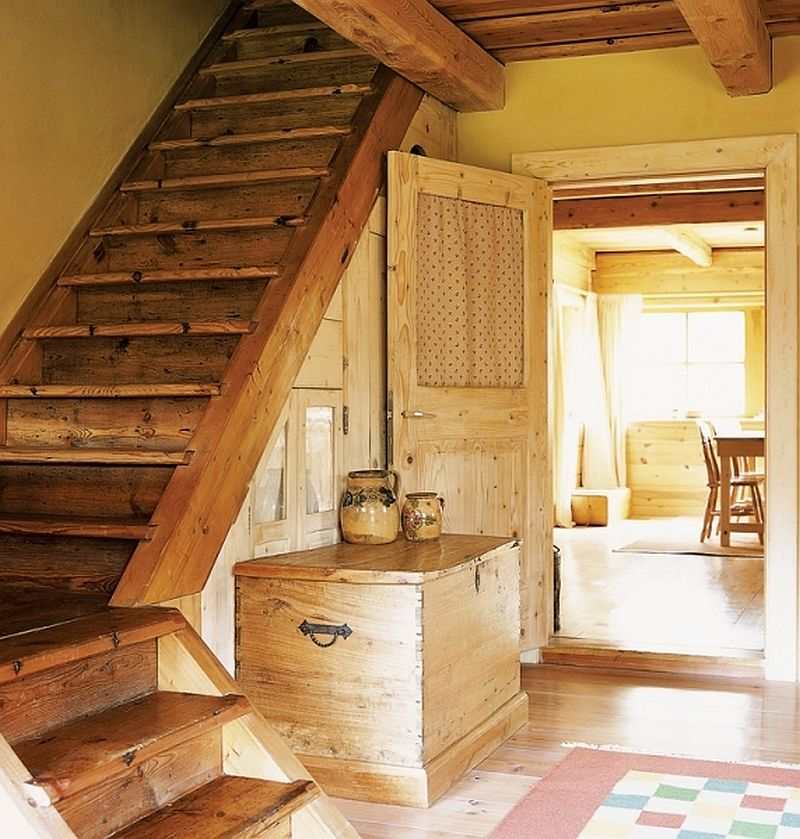 adelaparvu.com despre casa din lemn, interior rustic, casa Belgia (5)