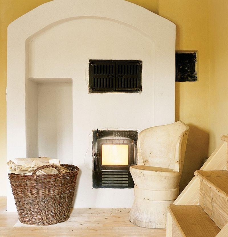 adelaparvu.com despre casa din lemn, interior rustic, casa Belgia (6)