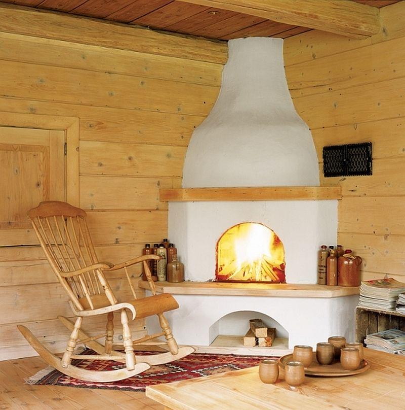 adelaparvu.com despre casa din lemn, interior rustic, casa Belgia (9)