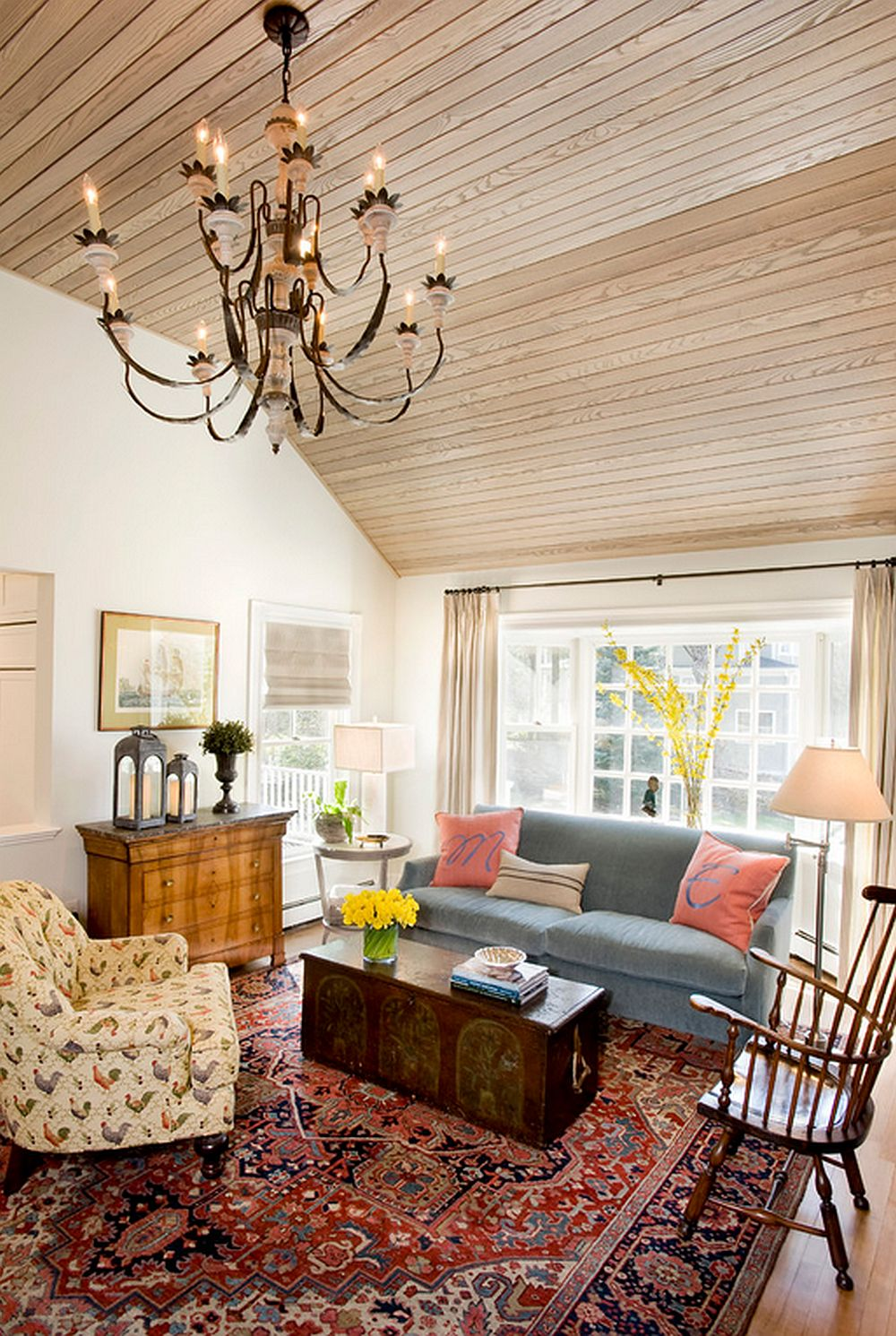 adelaparvu.com despre casa rustica in culori pastel, designer Karen Tager (3)