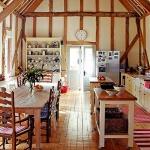 adelaparvu.com despre casa rustica intr-un vechi hambar, casa englezeasca, Foto Brent Darby, Country Homes Interiors (10)
