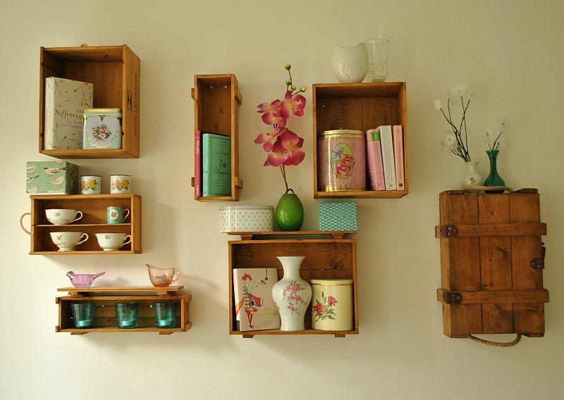 adelaparvu.com despre cutii din lemn pentru decorul peretilor (1)