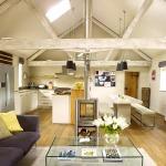 adelaparvu.com despre ferma de vaci transformata in casa, arhitectura KLH Architects, design interior Rendall & Wright, Foto Rachael Smith (1)