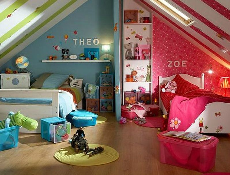 adelaparvu.com despre o singura camera pentru o fata si un baiat, Foto deschidere