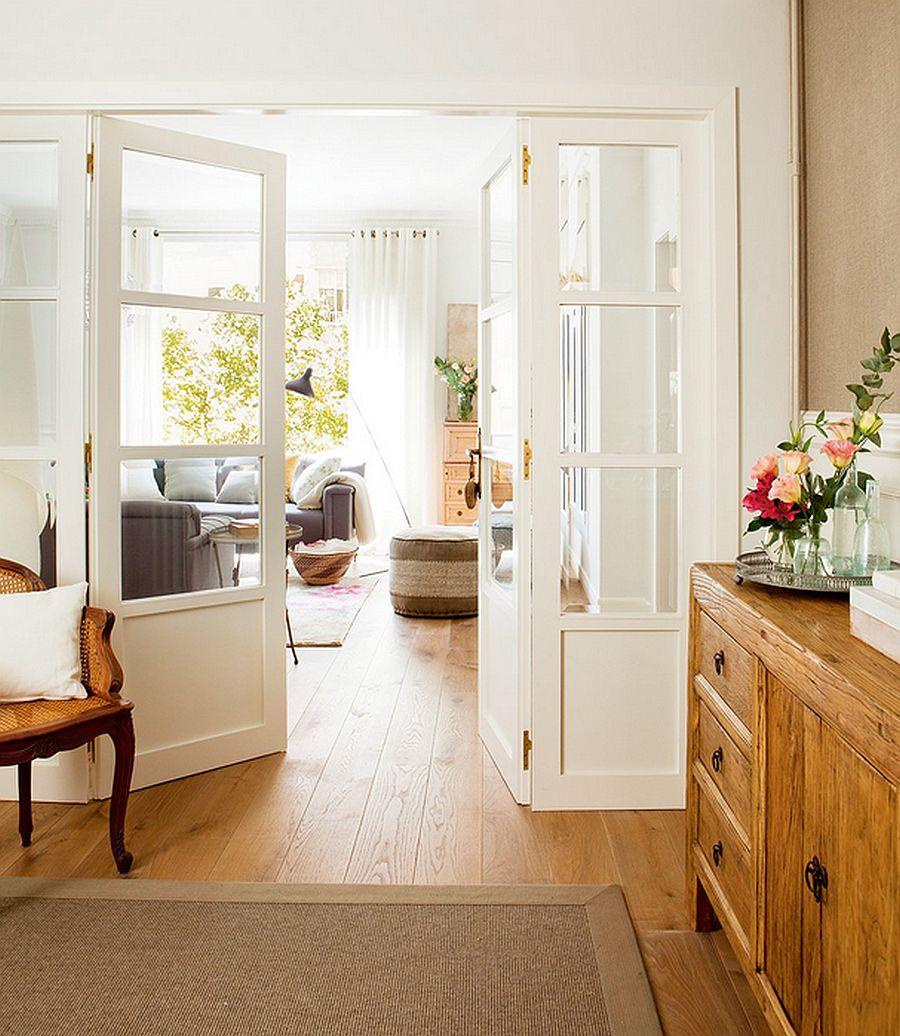 adelaparvu.com despre renovare apartament in cladire veche, casa Barcelona, designer Meritxell Ribe (2)