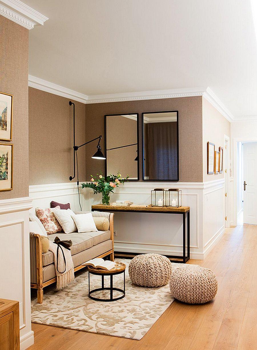 adelaparvu.com despre renovare apartament in cladire veche, casa Barcelona, designer Meritxell Ribe (4)