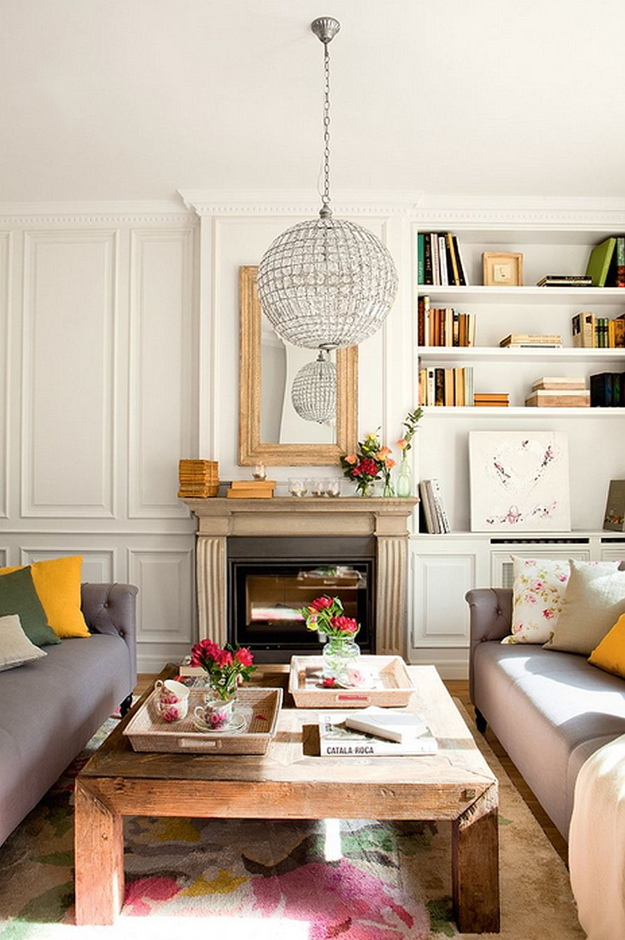 adelaparvu.com despre renovare apartament in cladire veche, casa Barcelona, designer Meritxell Ribe (6)