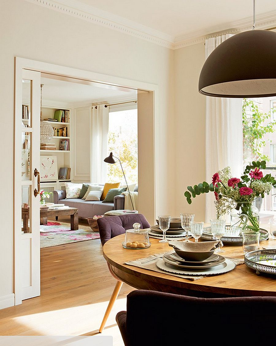 adelaparvu.com despre renovare apartament in cladire veche, casa Barcelona, designer Meritxell Ribe (7)