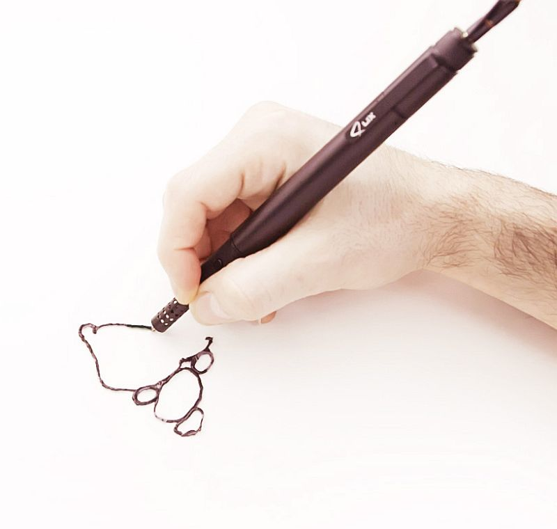 adelaparvu.com despre stiloul 3D Lix, 3D printing pen, designeri Anton Suvorov si Ismail Baran (1)